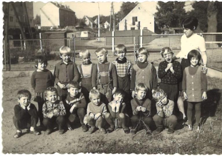 1969 älteste Gruppe mit Frau Boldt